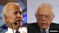 Mantan Wakil Presiden AS Joe Biden dan Senator Bernie Sanders dipandang sebagai calon terkuat untuk meraih nomasi Capres Partai Demokrat 2020.