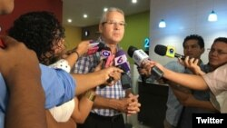 Carlos Pastora, gerente de canal 2 y canal 10 de Nicaragua. Foto: @nicaraguainvestiga.com