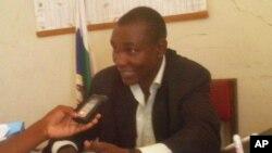 António Nihora, porta-voz da Renamo em Nampula