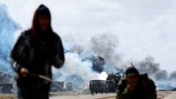 شورشیان لیبی در تلاش برای بازپس گیری نواحی از دست داده