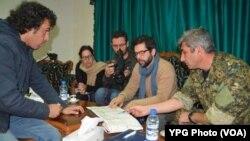 Şandeya HRW ligel YPG kom dibe