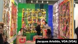 L'une des sept galeries africaines présentes à l'Armory Show de New York, 2 mars 2016