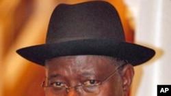 Shugaban Nijeriya Goodluck Jonathan.