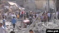 叙利亚内战死伤人数剧增 (VOA视频截图)