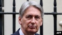 Bộ trưởng Tài chính Anh Philip Hammond