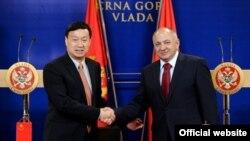 Potpredsjednik Vlade prof.dr Vujica Lazović susreo se sa ambasadorom NR Kine Cuijem Dživeijem (gov.me)