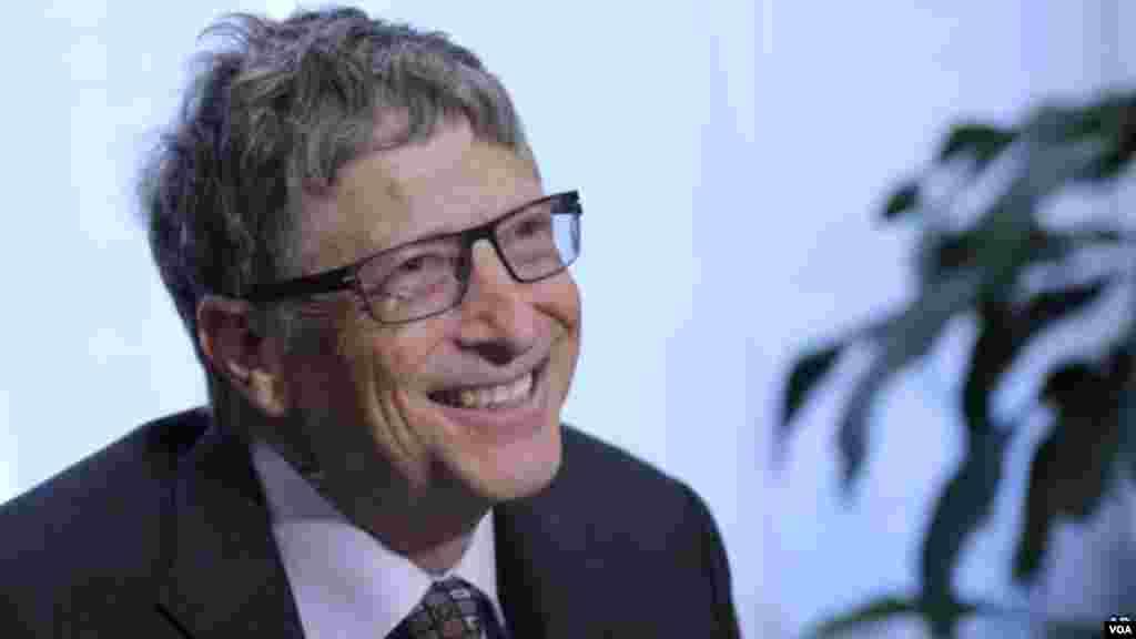 #1 - Bill Gates, pela Microsoft. $79.2 Mil Milhões.