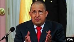 Presiden Venezuela, Hugo Chavez mengutuk operasi militer internasional di Libya.