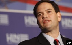 Le sénateur Marco Rubio (archives)
