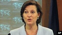 빅토리아 눌런드 국무부 대변인 (자료사진)