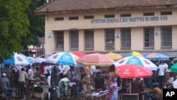 A Goma (vue ici) comme dans d'autres villes de la RDC, on retient son souffle dans l'attente des résultats