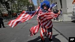 تجلیل از پیروزی تیم ملی فوتبال زنان امریکا در بازیهای جام جهانی سال ۲۰۱۵
