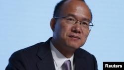 """有""""中国巴菲特""""之称的复星集团董事长郭广昌(资料照片)。"""