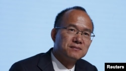 FILE - Billionaire Guo Guangchang, executive director and chairman of Fosun International, attends the annual general meeting of the Chinese conglomerate in Hong Kong, China, May 28, 2015.