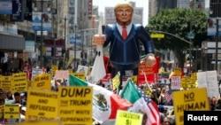 Trump Protest, LA