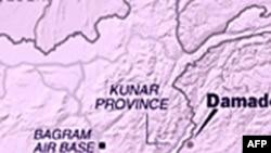 Bản đồ khu vực biên giới Pakistan, Afghanistan