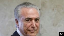 Temer defende abertura do Brasil ao mundo