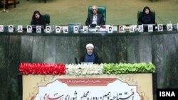 سخنرانی روحانی در آیین گشایش دهمین دوره مجلس شورای اسلامی