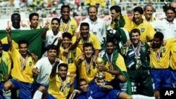 1994년 미국 월드컵에서 통상 4번째 우승을 차지한 브라질 국가대표팀
