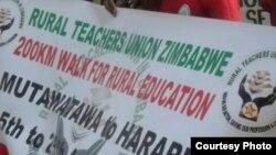 Sangano reRural Teachers Union of Zimbabwe rinoti hurumende haina kunge yagadzirira zvakakwana