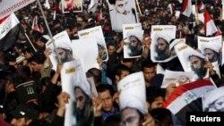 اعدام یک روحانی شیعه در عربستان سعودی به مظاهرات گسترده در ایران و عراق انجامید