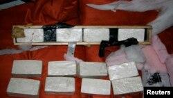 Heroin yang berhasil disita di pelabuhan Miami, Florida oleh U.S. Drug Enforcement Administration (DEA) (foto: dok).