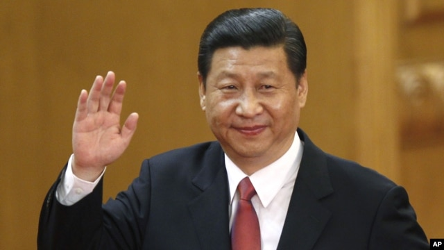 Tân Tổng bí thư đảng Cộng sản Trung Quốc Tập Cận Bình
