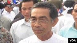 캄보디아 노로돔 시아누크 국왕의 사촌이며 야당 소속의 시소와스 토미코 왕자.(자료사진)