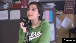Tahmina Achekzai es una de las beneficiadas de la fundación Pedro A. Bellini este año. El sueño de Tahmina es convertirse en periodista. Foto: [Cortesía: Familia Achekzai].