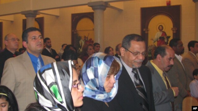 Coptic Christmas is less joyful this year for the congregation of St. Mark Coptic Orthodox Church in Fairfax, Virginia