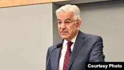 د پاکستان د بهرنيو چارو وزير خواجه اصف