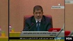 埃及總統穆爾西星期三在開羅召開的阿拉伯聯盟會議上批評敘利亞總統阿薩德。