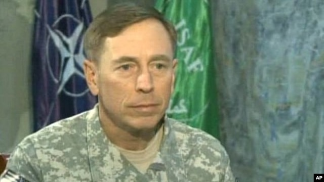 Petraeus: NATO Pressure Forcing Taliban to Seek Peace