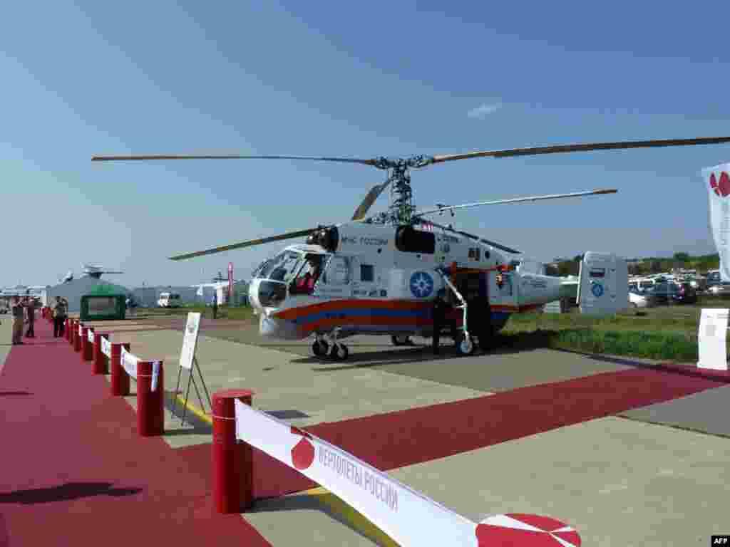 Вертолет МЧС Ка-32