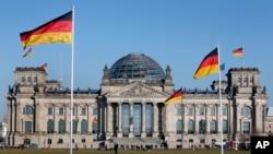 德國國會大樓。