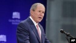 Cựu Tổng thống Hoa Kỳ George W. Bush.