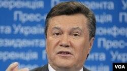 Presiden Ukraina Viktor Yanukovych berniat menjadikan Ukraina sebagai anggota Uni Eropa.