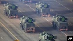 Rusko oružje za protivraketnu odbranu na probi vojne parade na Crvenom trgu u Moskvi (arhivski snimak)
