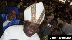 Leading the construction of the Anglican University of Zimbabwe, Bishop Chad Gandiya of the CPCA.