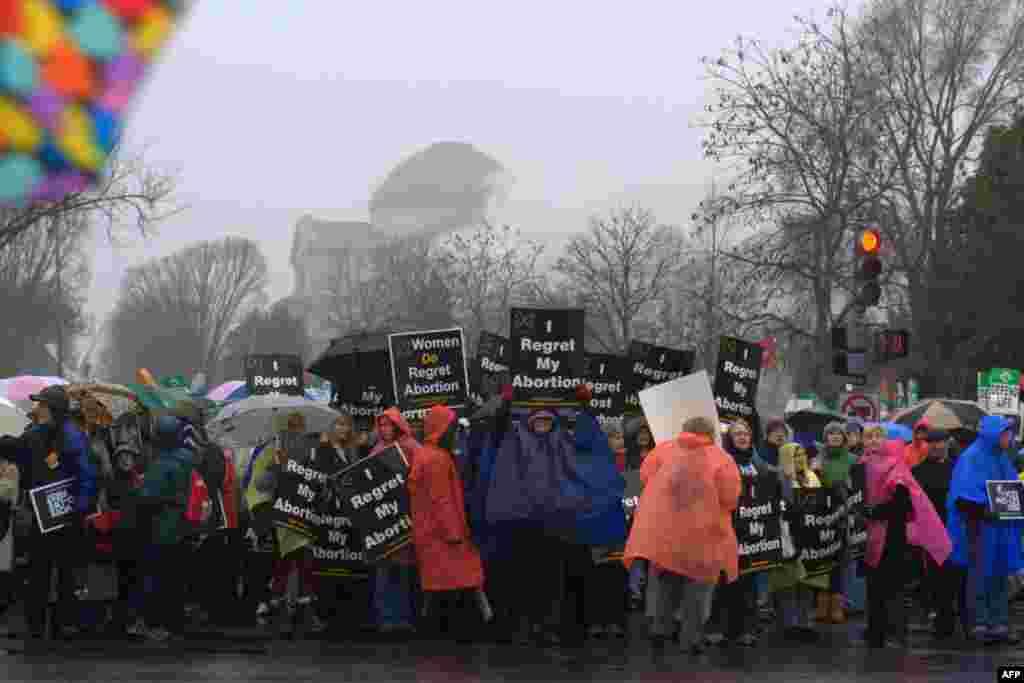 Демонстрация против абортов