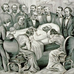 The death of President Garfield