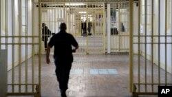Prison de Fresnes, au sud de Paris, en France, le 20 septembre 2016.