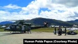 TNI/Polri akan dilibatkan untuk melakukan penertiban aktivitas masyarakat guna mencegah perebakan virus corona di Papua (courtesy: Humas Polda Papua)