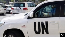 Mideast Syria UN