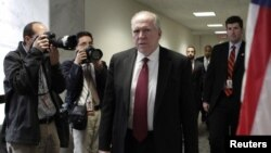 Džon Brenan, kandidat za novog direktora CIA-e dolazi na sastanak u Senatu (arhivski snimak)