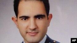 Phi công Hasan Huseyin Aksoy một trong 2 phi công của phản lực bị Syria bắn rơi