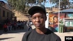 Chrishana Cameron, 21, is learning jobs skills as a Corps member. (M. O'Sullivan/VOA)