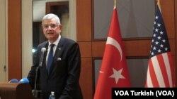 AB Bakanı Volkan Bozkır Washington'da