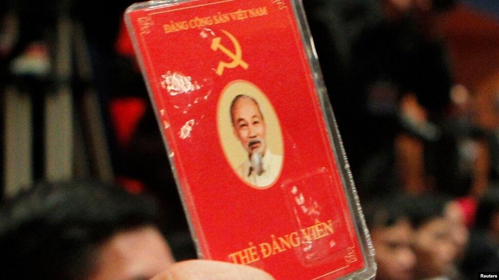Thẻ Đảng viên Đảng Cộng Sản Việt Nam.