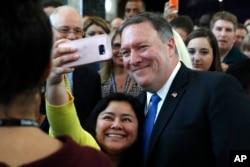 Selfies con los empleados.